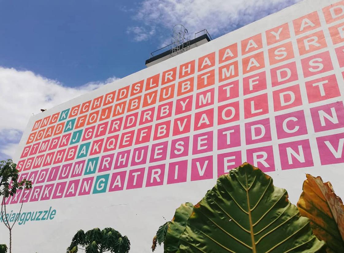 #Kajangpuzzle
